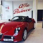 Nuevo salón boutique Alfa Romeo